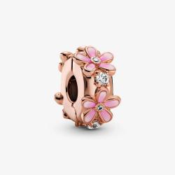 Charm Margherite Rosa- Pandora