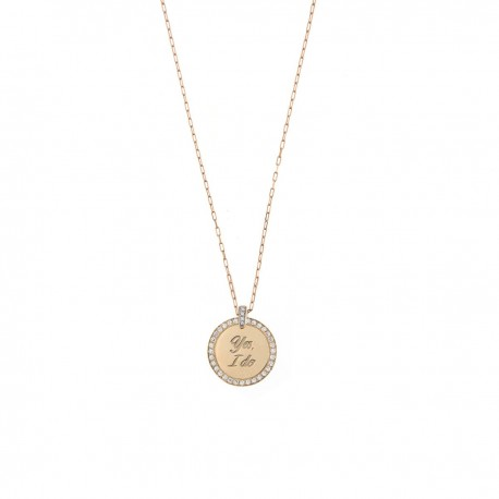 Collana Donna Madly con Medaglia Yes, I Do - Rue des Mille