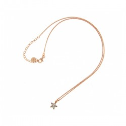 """""""Stardust Classic"""" Woman Necklace Choker with microzircons Star - Rue Des Mille"""