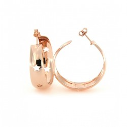 Gipsy Women's Circles Earrings with Stars - Rue Des Mille