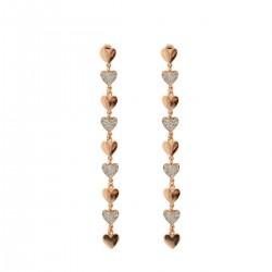 Stardust Classic Alternate Heart Earrings - Rue des Mille