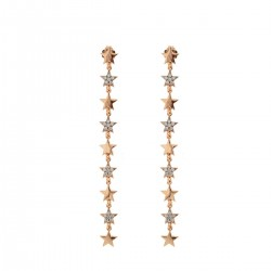 Stardust Classic Earrings with Alternate Stars - Rue des Mille