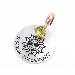 """Charm Natura """"Ti Scaldo Dolcemente"""" con Peridoto - Rerum Gioielli"""