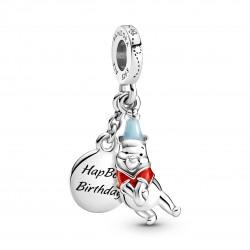 Charm Disney, Winnie The Pooh, Buon Compleanno- Pandora