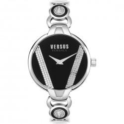 Orologio Donna in Acciaio Saint Germain con Quadrante Nero Solo Tempo VSPER0119 - Versus