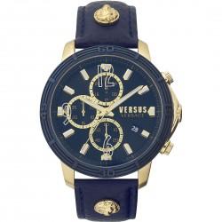 Orologio Uomo Bicocca Cronografo con Cinturino in Pelle Blu VSPHJ0220 - Versus