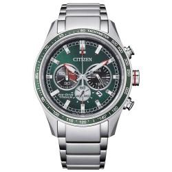 Orologio Uomo Eco-Drive in Titanio Cronografo con Quadrante Verde CA4497-86X - Citizen