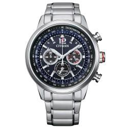 Orologio Uomo In Acciaio Eco-Drive Cronografo con Quadrante Blu CA4471-80L - Citizen
