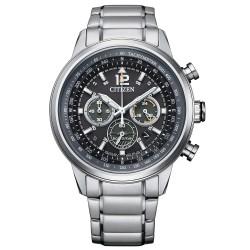 Orologio Uomo in Acciaio Eco-Drive Cronografo con Quadrante Grigio CA4470-82E - Citizen