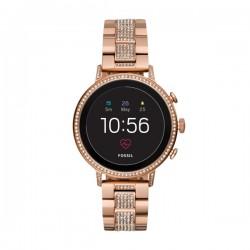 Smartwatch Q Venture Donna Rosè Gold Stahl - Fossil
