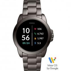 Smartwatch Uomo in Acciaio Brunito- Fossil