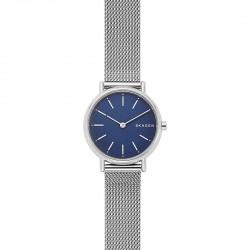 Orologio Donna Signatur Slim Maglia Mesh Quadrante Blu - Skagen