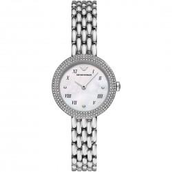 Orologio Donna Solo tempo in Acciaio con Quadrante con Cristalli AR11354  - Emporio Armani