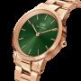 Orologio Donna Solo Tempo in Acciaio Rosè Quadrante Verde 28mm DW00100421 - Daniel Wellington