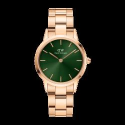 Orologio Donna Solo Tempo in Acciaio Rosè Quadrante Verde 32mm DW00100420 - Daniel Wellington