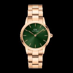 Orologio Solo Tempo in Acciaio Rosè con Quadrante Verde 36mm DW00100419 - Daniel Wellington