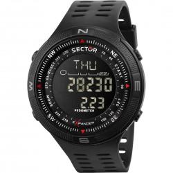 orologio Uomo in Silicone Digital Black R3251541001 - Sector