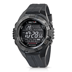 Orologio Uomo Street Digital Black Grey R3251372215 - Sector
