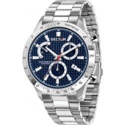 Orologio Uomo Cronografo 270 con Quadrante Blu - Sector