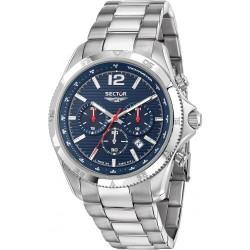 Orologio Uomo Cronografo 650 Quadrante Blu - Sector