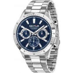 Orologio Uomo 270 Cronografo con Quadrante Blu - Sector
