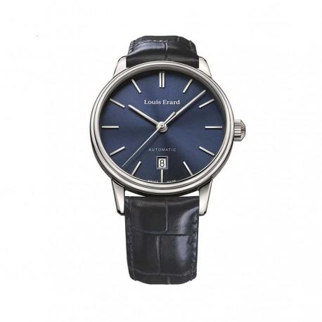 Orologio Uomo Heritage Collection  Automatico Pelle Blu - Louis Erard