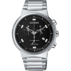 Orologio Uomo Acciaio Crono Ecodrive Modern - Citizen