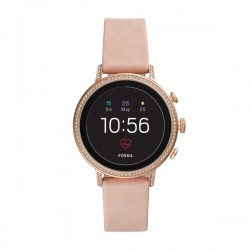 Smartwatch Amoled Q Venture Donna cinturino in silicone rosa - Fossil