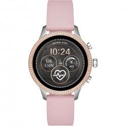 Smartwatch Donna Runway Gomma Rosa e Zirconi - Michael Kors