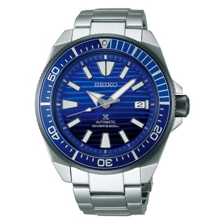 Orologio Uomo Prospex Automatico Diver's 200mt Fondo Blu - Seiko