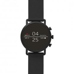 Smartwatch Uomo Falster 2 Cassa Brunita e Cinturino Caucciù Nero - Skagen