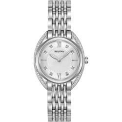 Orologio Donna Accutron Solo Tempo Acciaio e Diamanti - Bulova