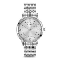Orologio Donna Acciaio Solo Tempo con Diamanti - Bulova