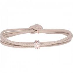 Bracciale Nappa Panna Mini Argento 925 e Oro Rosa -misura m - Rubinia Gioielli