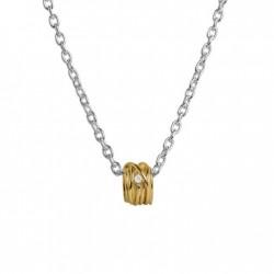 Pendente Filodellavita Mini Collection 13 Fili Oro Giallo 9k con Diamante Bianco 0.02 ct - Rubinia Gioielli