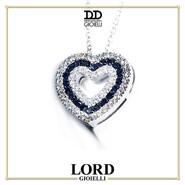 𝐂𝐨𝐥𝐥𝐚𝐧𝐚 𝐂𝐮𝐨𝐫𝐞 𝐢𝐧 O𝐫𝐨 𝐁𝐢𝐚𝐧𝐜𝐨 𝐜𝐨𝐧 𝐃𝐢𝐚𝐦𝐚𝐧𝐭𝐢 𝐞 𝐙𝐚𝐟𝐟𝐢𝐫𝐢 𝐝𝐢 𝐃𝐚𝐯𝐢𝐭𝐞&𝐃𝐞𝐥𝐮𝐜𝐜𝐡𝐢 💎 Il discreto piacere della vera Bellezza ❤ . Scopri l'intera Collezione sullo shop Lord Gioielli. 👉 Link in bio . . . #lordgioielli #massafra #gioielleriaitaliana #daviteedelucchi #daviteedelucchigioielli #daviteedelucchicollection #heartneckles #heart #diamonds #zapphire #zapphirejewels #diamondsjewels #instajewel #jewellery #shoponline #freeshipping #securepayments #followourpage